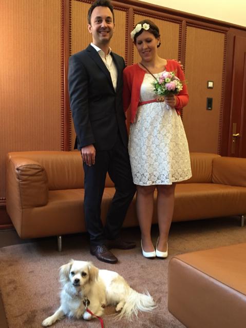 Gestern war ich heiraten