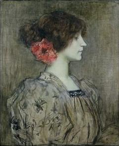 Colette (Gemälde von Fernand Humbert, um 1896). Aus Wikipedia