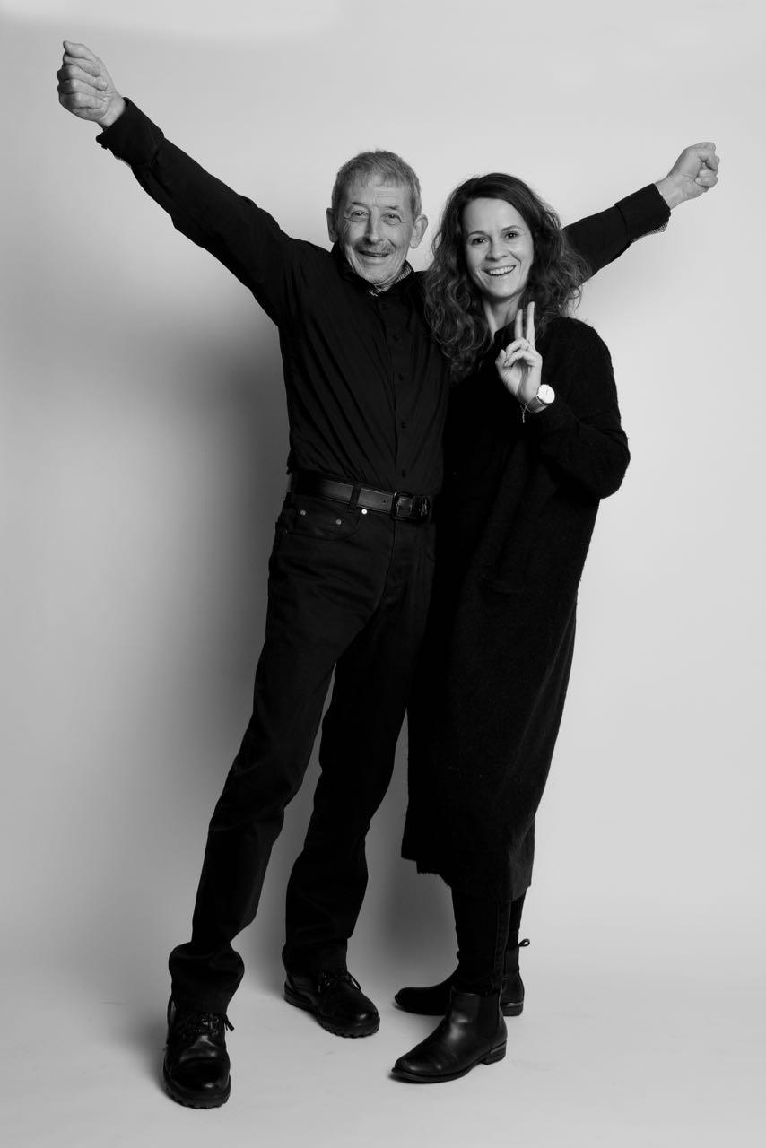 Er jubelt und sie lacht. Alois Birbaumer und Daniela Friedli. (Foto: Chef)